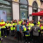 premiazione gruppo Nordic Walking Novara